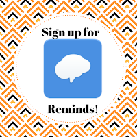 Sign up for Reminds!