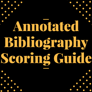 Ann Bib Scoring Guide