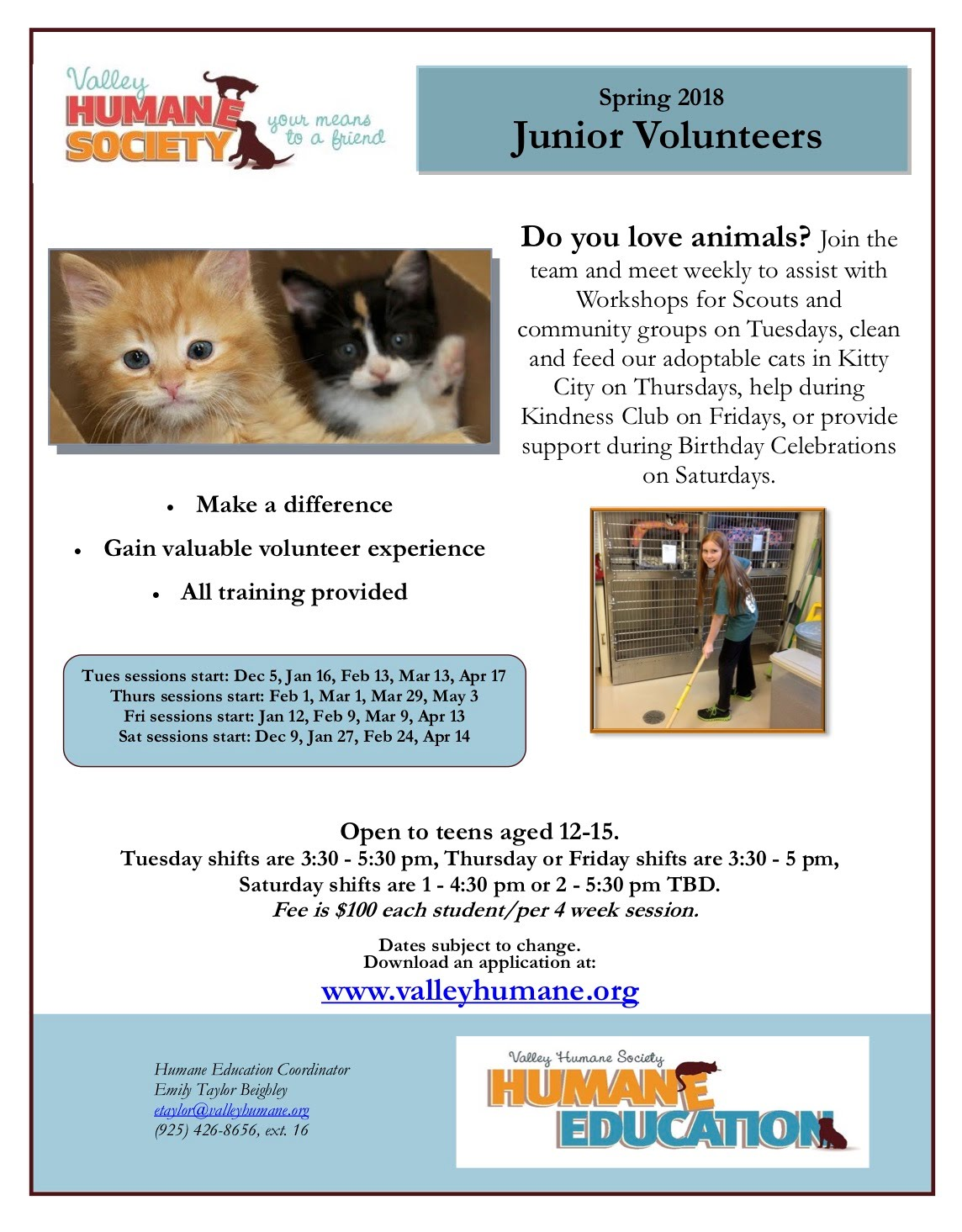 https://valleyhumane.org/humane-education/teens/