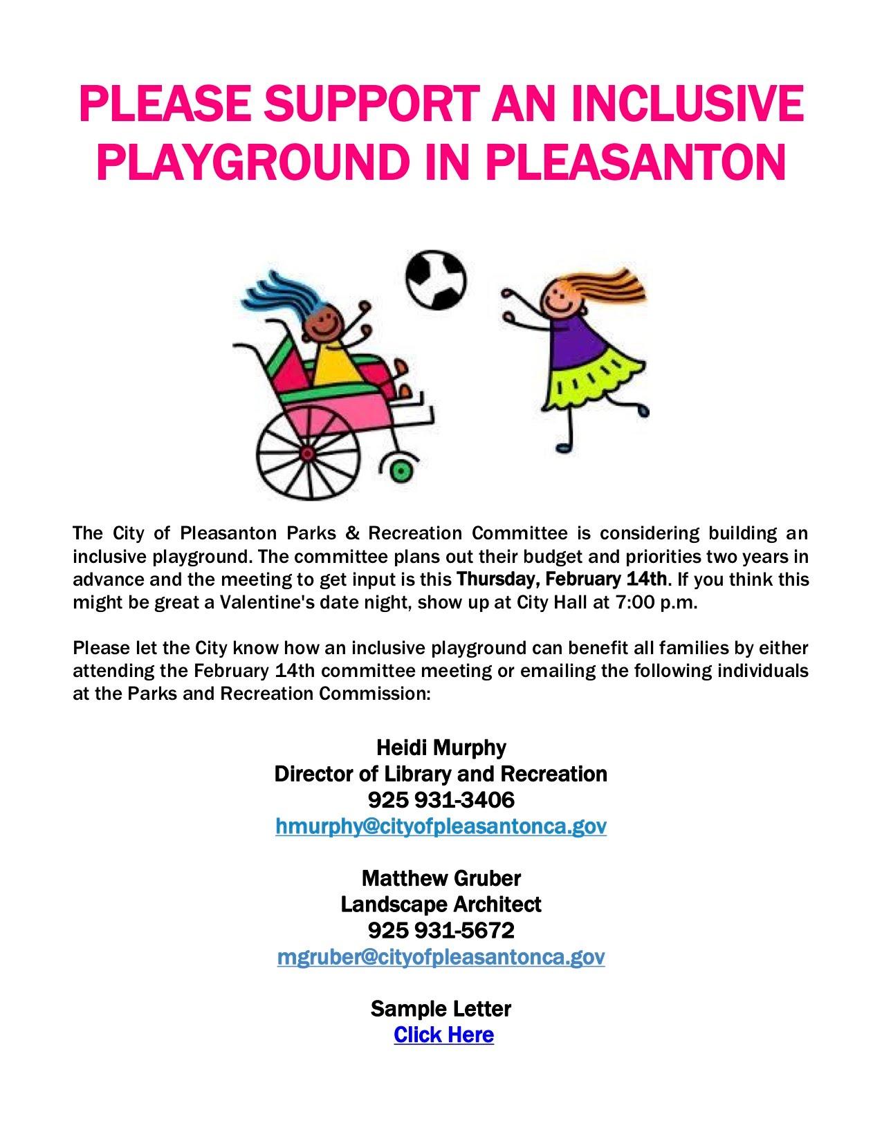 Pleasanton Special Needs Committee