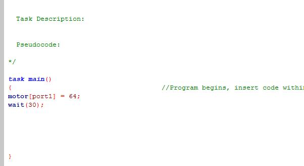 VEX-Code Snippets - MurphSite