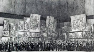 Salon de 1800 paris salon exhibitions 1667 1880 - Salons de the a paris ...