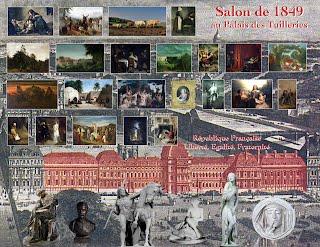 Salon de 1849 paris salon exhibitions 1667 1880 for Salon exposition paris