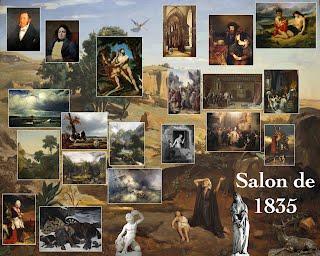 Salon de 1835 paris salon exhibitions 1667 1880 for Salon exposition paris
