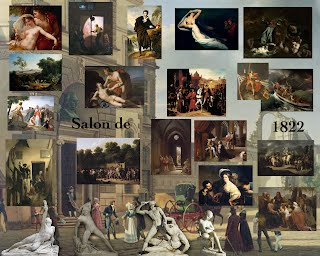 Salon de 1822 paris salon exhibitions 1667 1880 for Salon exposition paris
