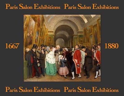 Paris salon exhibitions 1667 1880 for Salon exposition paris