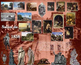 Salon de 1838 paris salon exhibitions 1667 1880 for Salon exposition paris