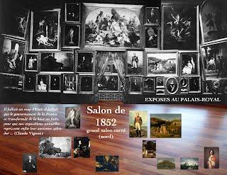 Salon de 1852 paris salon exhibitions 1667 1880 for Salon exposition paris