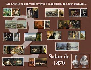 Salon de 1870 paris salon exhibitions 1667 1880 for Salon exposition paris