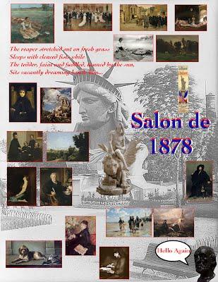 Salon de 1878 paris salon exhibitions 1667 1880 for Salon exposition paris