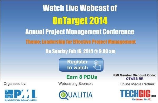 Registration - PMI OnTarget 2014