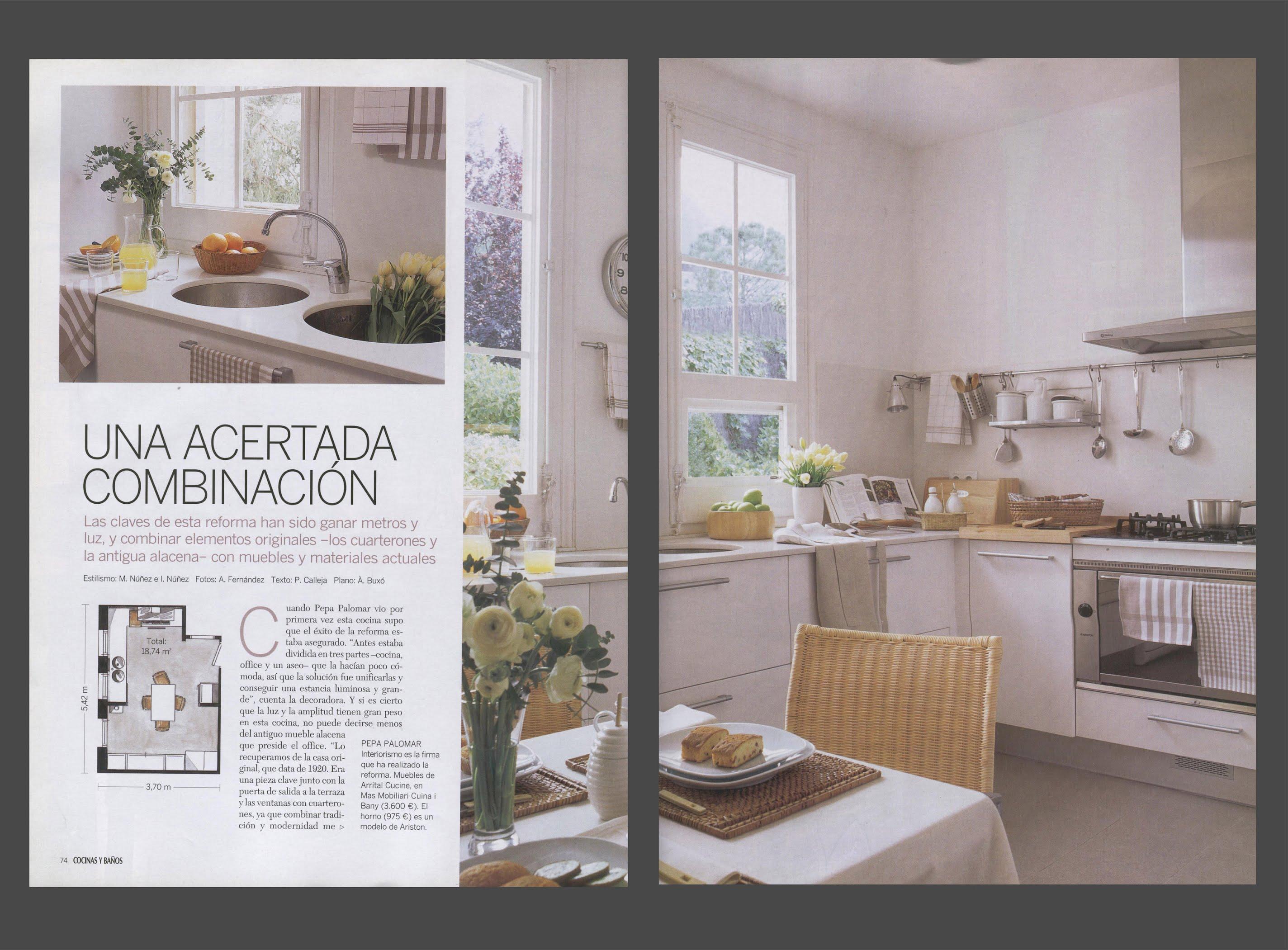 EL MUEBLE Cocinas y Baños - Pepa Palomar Interiorismo