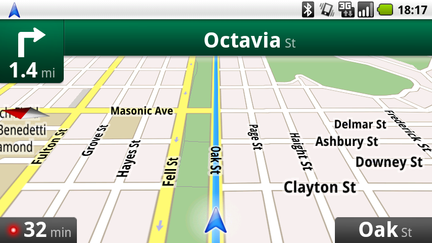 Screenshots - Google Maps Navigation
