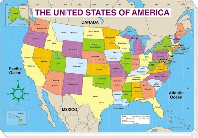 geography map of usa Geography   Ms. Simon