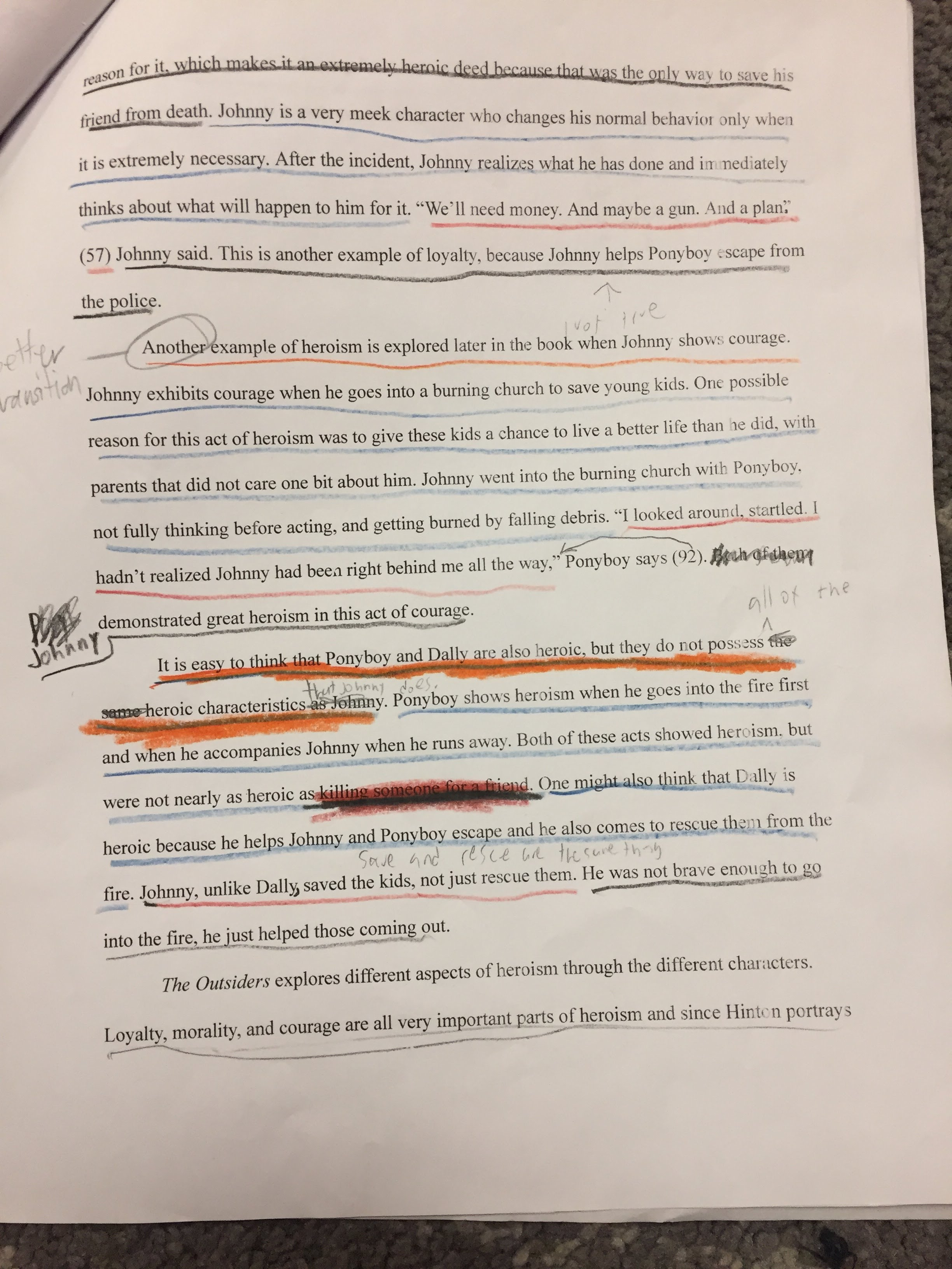 th grade english of their essays ensuring that each paragraph had a topic sentence introduction to evidence two pieces of evidence and sufficient analysis