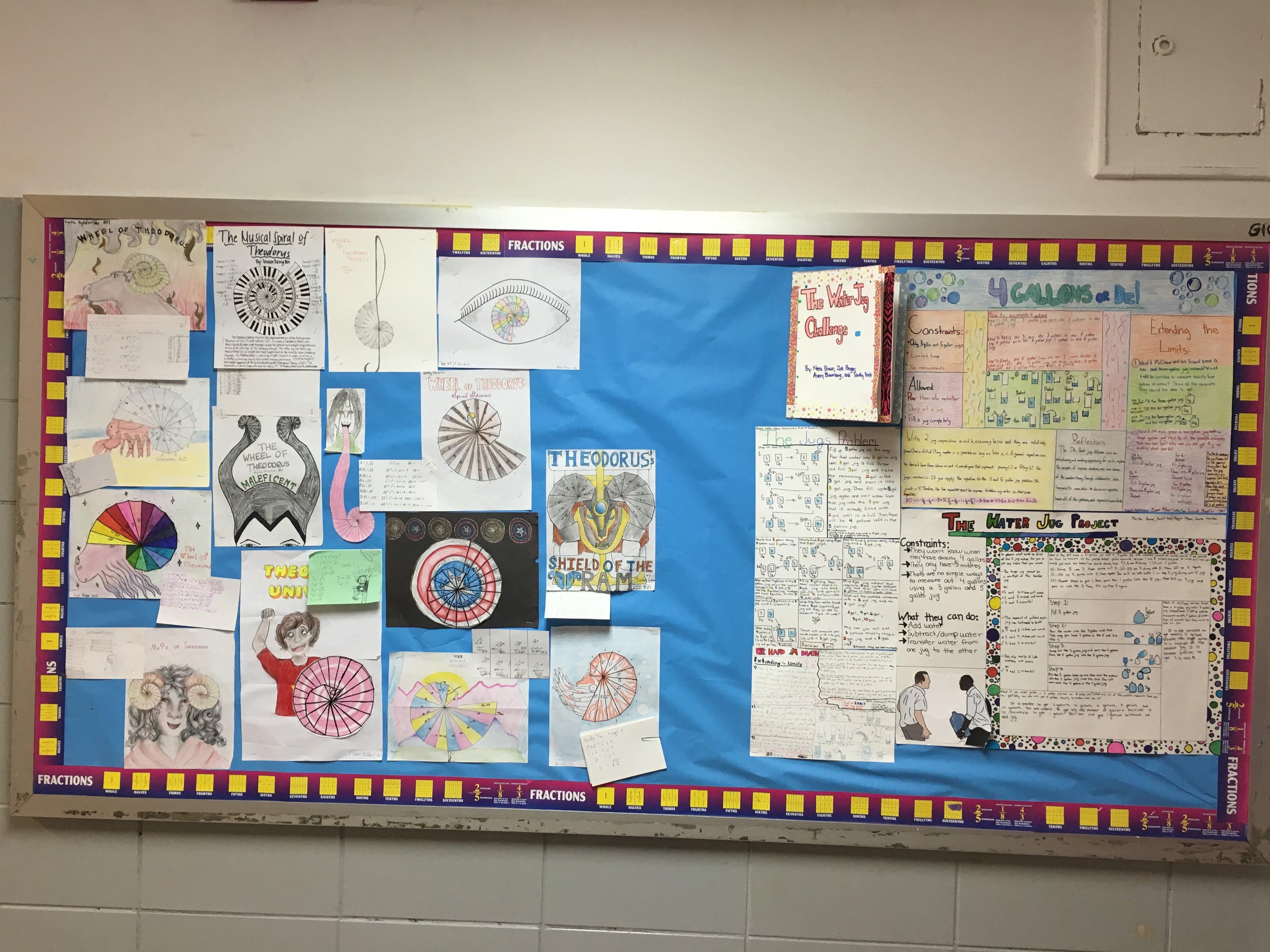 Student Work: Classwork & Projects - Math - Grade 7