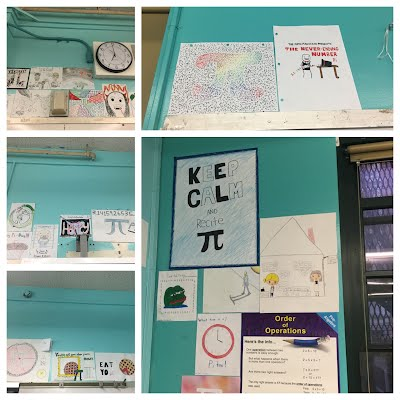 Student Work: Classwork & Projects - Math - Grade 8