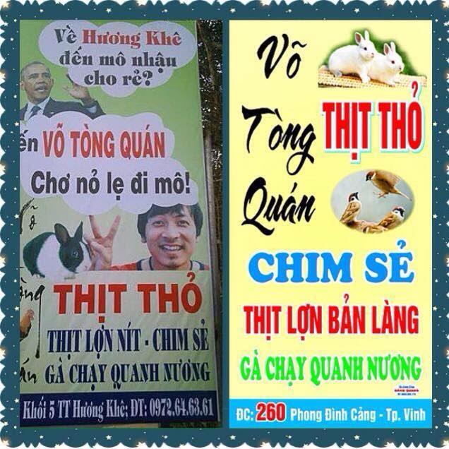 Võ Tòng Quán - Hà Tĩnh: Thịt Thỏ ngon nức tiếng
