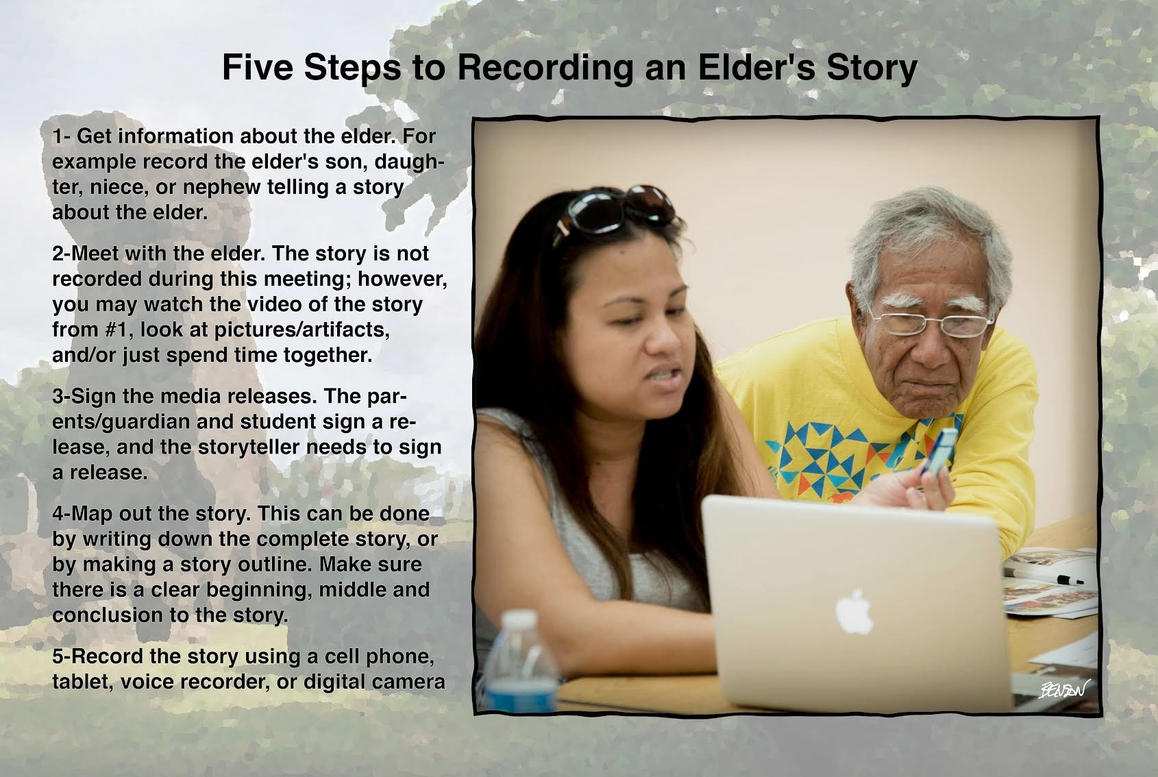 5 steps for collecting stories