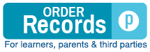 Order Records: For learners, parents, and third parties