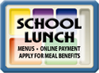 Lunch button graphic