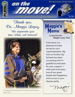 June 2014 On the Move newsletter cover graphic