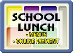 School Lunch button graphic