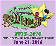 PreK and Kindergarten Roundup