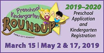2019-20 PreK and Kindergarten Roundup