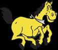 Sunset Park Elementary Sparky logo