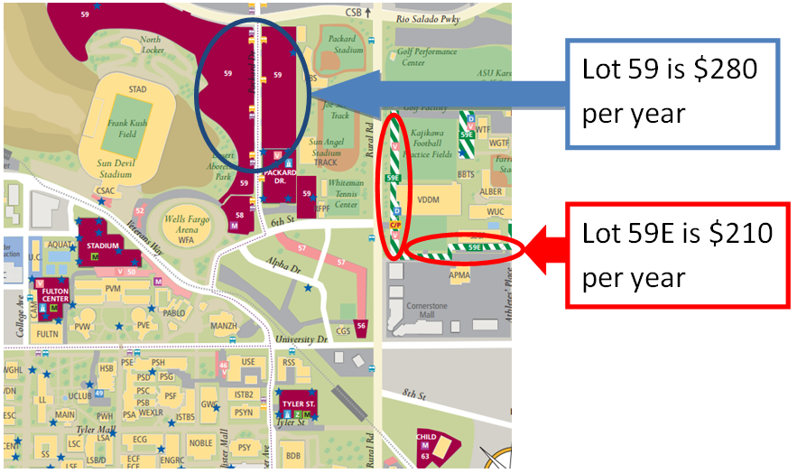 - Site Parking Info Crest Asu Internship