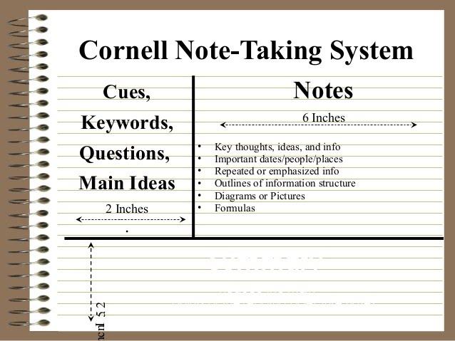 Best Of Cornell Notes Template Word: Mr. Ferguson's Classes