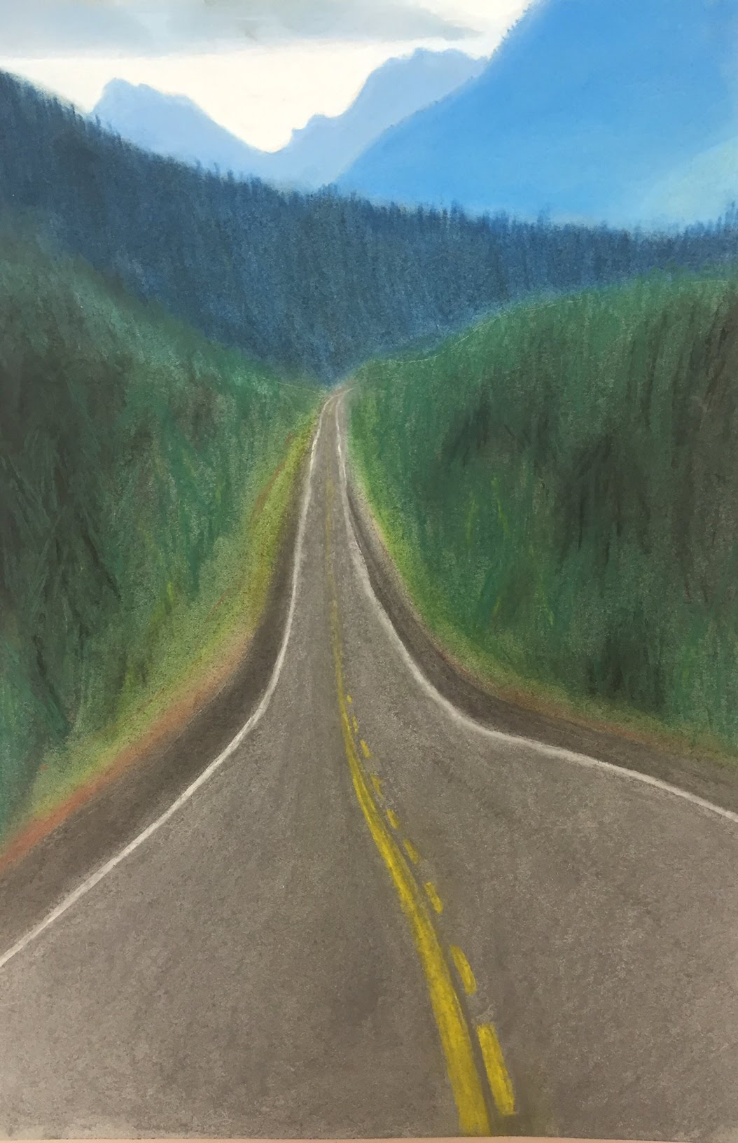 Atmospheric And Linear Perspective Nvaa Student Work