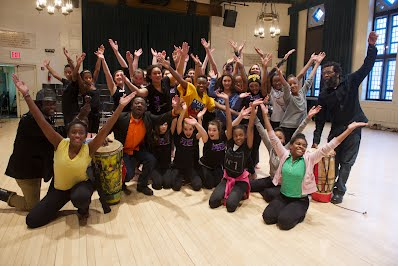 Haitian Dance Class with NYC Students and Teacher
