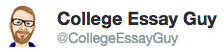 The College Essay Guy on Twitter
