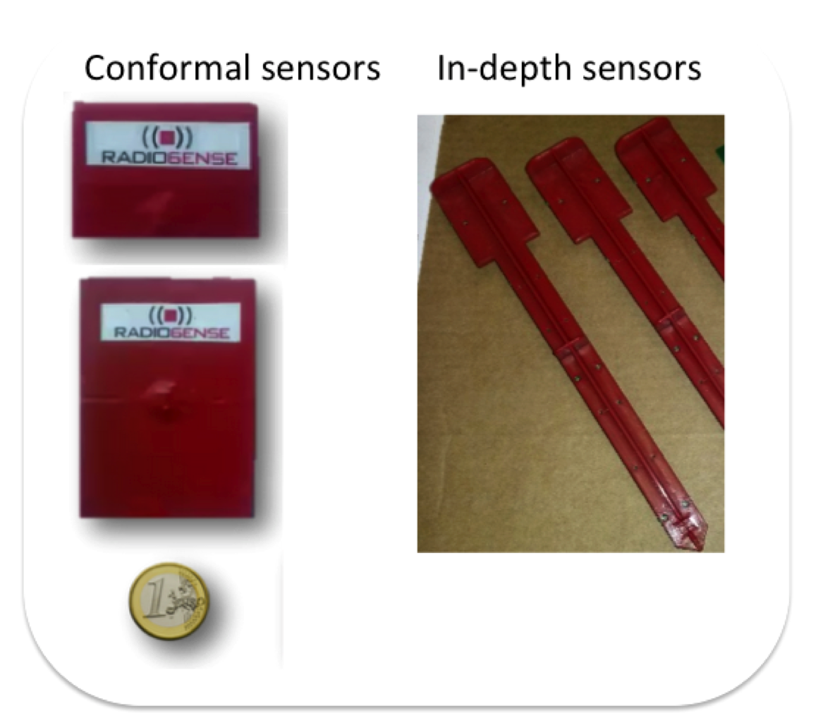Temperature sensor - RADIO6ENSE - Radio Frequency Identification