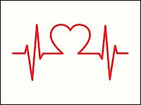 Heartbeat Rhythm Strip