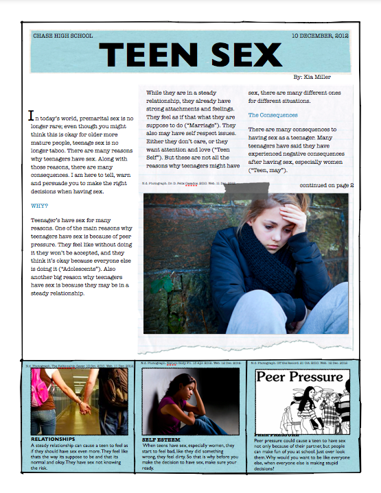 Teen sex Magazine