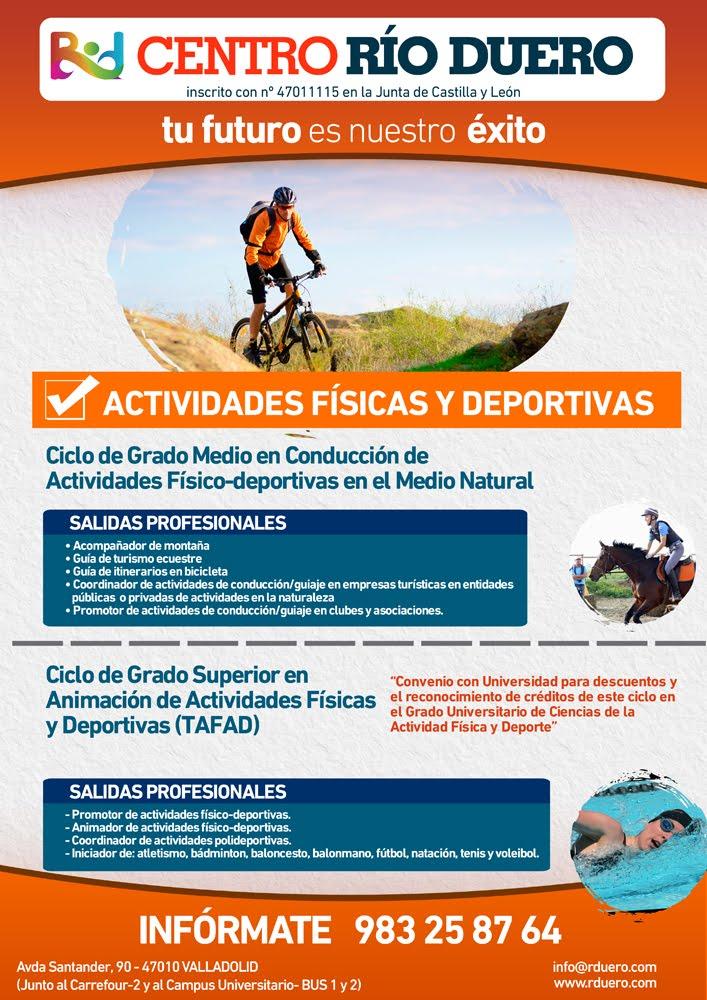 Cfgs Animación De Actividades Físicas Y Deportivas Tafad