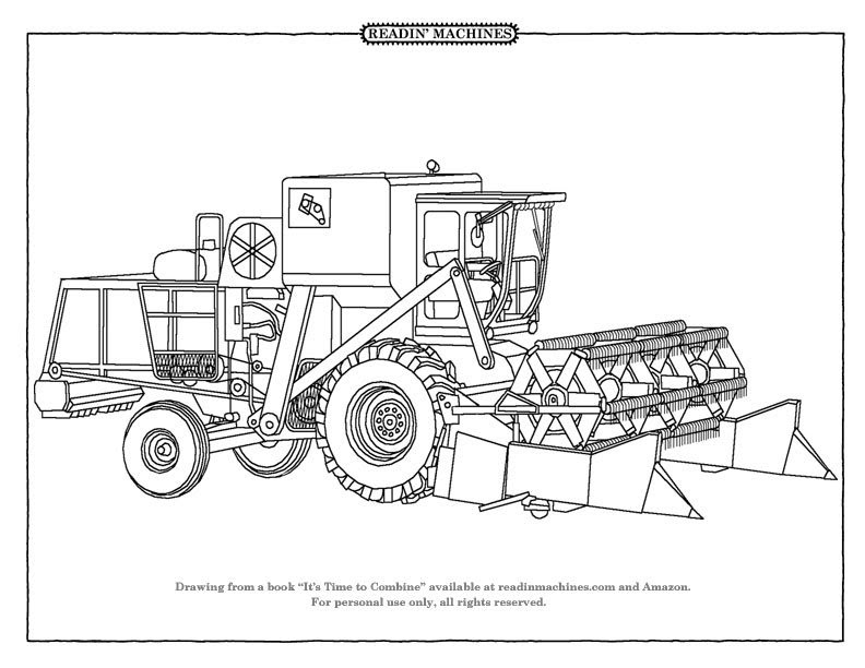 Readin' Machines Coloring Pages