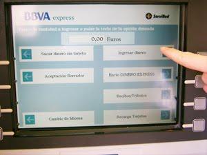 Ingresos por cajero banco bbva wikipedia para clientes for Cajeros banco santander para ingresar dinero
