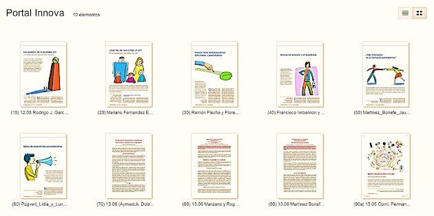 Documentos elaborados desde el Portal Innova