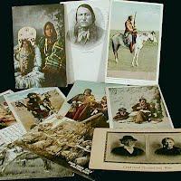 Antique, Vintage Native American Postcards
