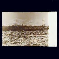Antique Photo Postcard, Henderson Ice Gorge