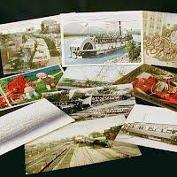 Antique, Vintage Transportation Postcards