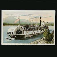 Antique Postcard, Excursion Steamer Bailey Gatzert on Columbia River Oregon