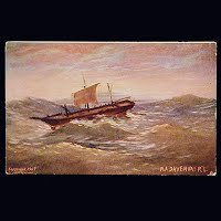 Antique Postcard, 1907 RA Davenport, George Mather