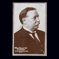 1909 Antique Photo Postcard, William Howard Taft for President
