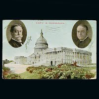 Antique Postcard, Capital at Washington DC, Taft & Sherman