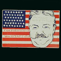 Antique Postcard, 1908 For President William Taft